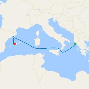 Mediterranean Shores from Corfu to Majorca
