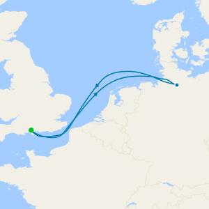 Hamburg Short Break from Southampton