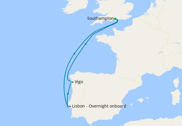 Southern Cruise Break from Southampton