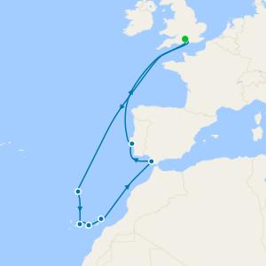 Atlantic Islands from Southampton