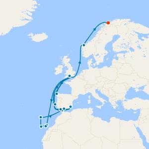 Southampton to Singapore