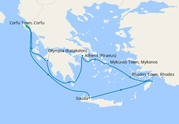 Aegean Discovery from Corfu