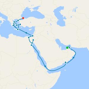 Arabia, Egypt & Ancient Greece from Dubai