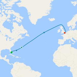 Bermuda & Atlantic Crossing from Miami