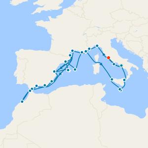 Best of the Mediterranean - Rome Roundtrip