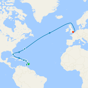 Caribbean & Atlantic Crossing from Barbados