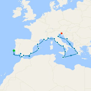 Southern Europe Escapade from Lisbon