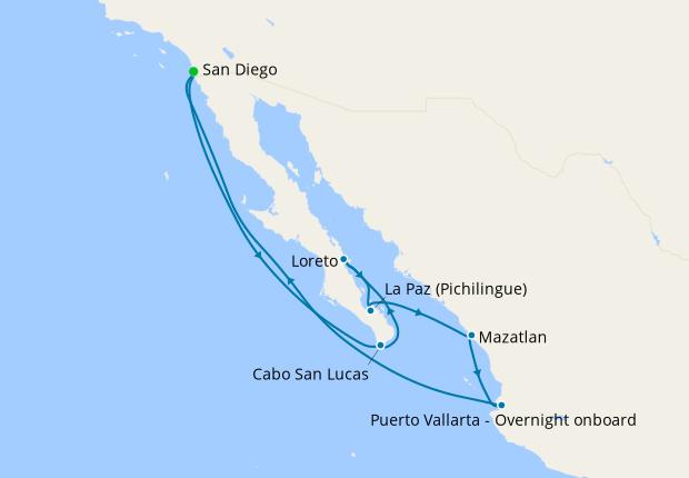 Mexican Coastal from San Diego