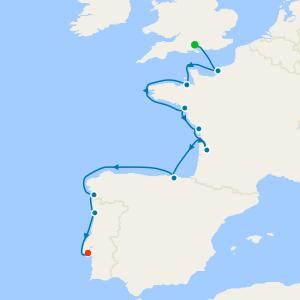 Northern Europe & British Isles from Southampton