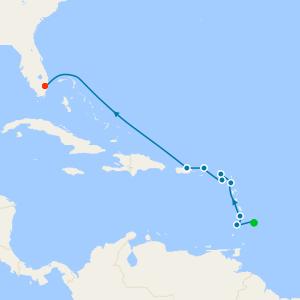 Caribbean & Central America from Bridgetown