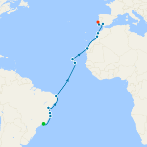 Transoceanic from Rio de Janeiro to Lisbon