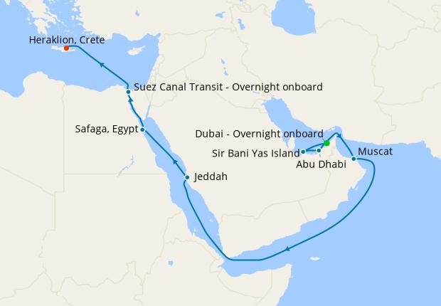 Dubai to Singapore