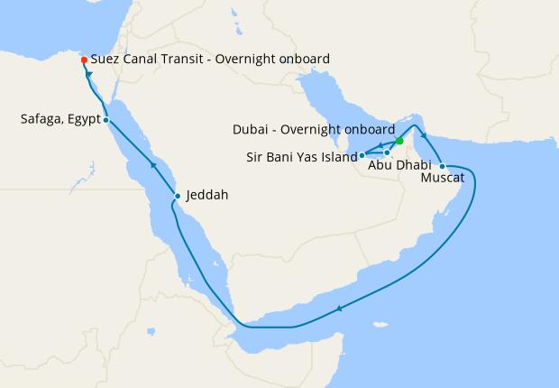 Dubai to Port Kelang