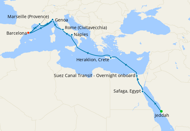 Colombo to Shanghai