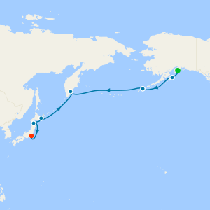 Transoceanic from Seward to Tokyo