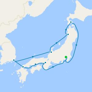 Asia - Tokyo Roundtrip