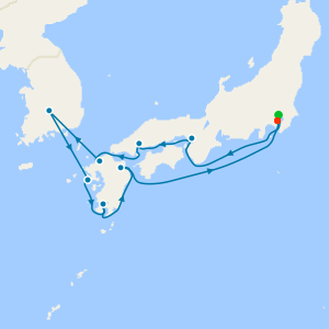 Asia from Tokyo to Yokohama (Tokyo)
