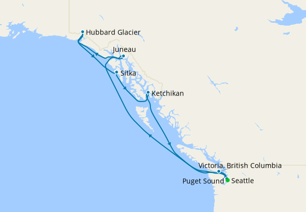 Alaskan Explorer from Seattle