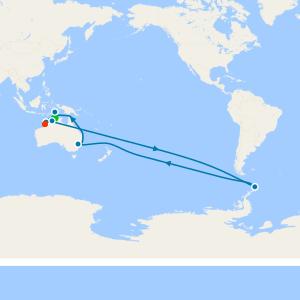 Australia & New Zealand from Darwin to Broome (Kimberlay)