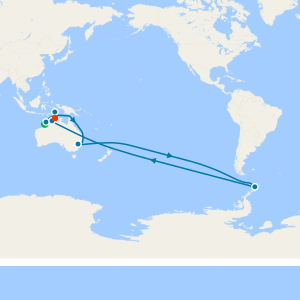 Australia & New Zealand from Broome (Kimberlay) to Darwin