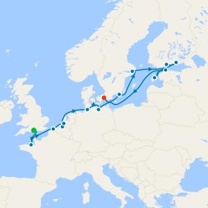 Crests of the North Sea Coast - Southampton to Copenhagen