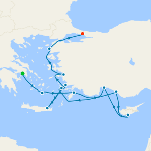 Bosphorous Beauty & the Black Sea - Athens to Istanbul