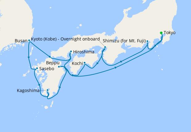 Adventure in Asia - Tokyo to Hong Kong