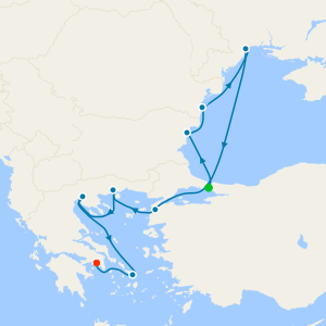 Black Sea & Aegean Voyage from Istanbul to Athens