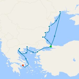 Black Sea Intensive Voyage from Istanbul
