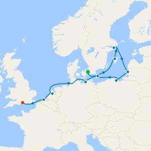 Baltics & Amsterdam from Stockholm