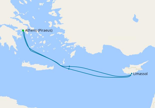 Aegean Sampler Voyage from Athens