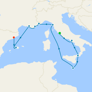 Roman Rivieras from Rome to Barcelona