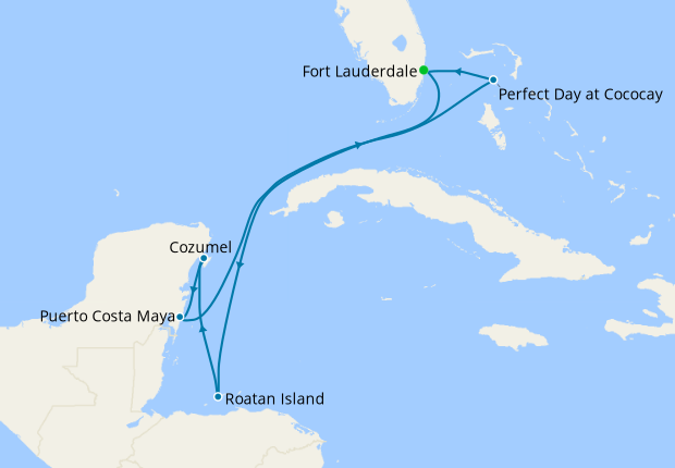 Western Caribbean & Perfect Day from Ft. Lauderdale