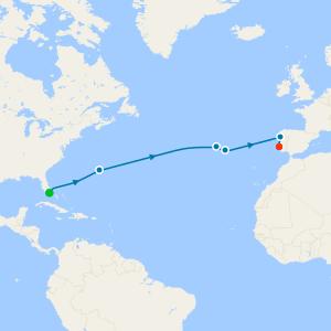 Hidden Isles of the Atlantic from Miami to Lisbon