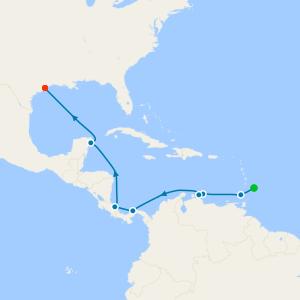 Barbados to Galveston