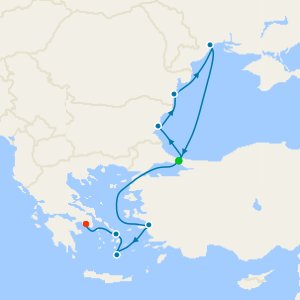 Black Sea Mystique from Istanbul to Athens