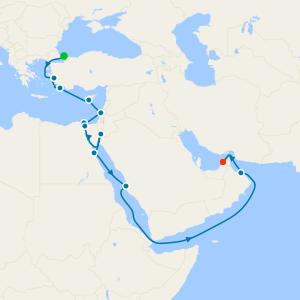 Holy Land & Arabian Jewels from Istanbul to Dubai