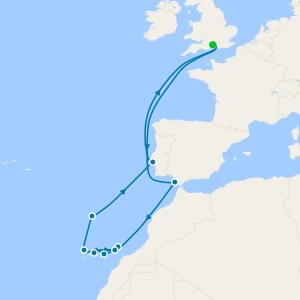 Canary Island Adventure from Southampton