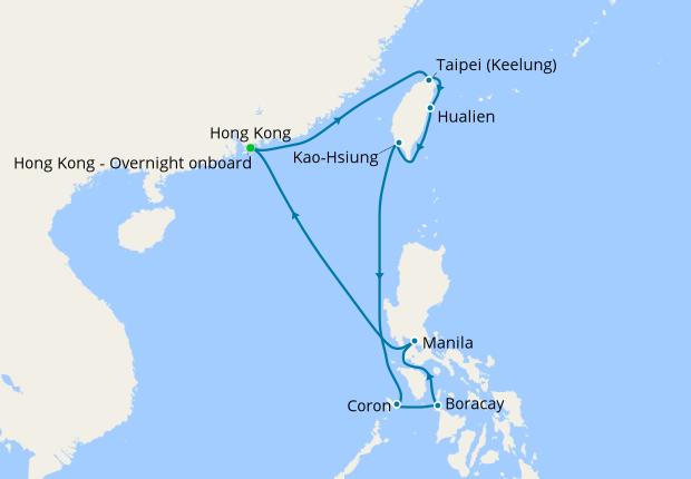 Philippines China Voyage From Hong Kong 3 October 2019