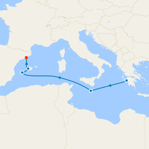Ravenna to Barcelona