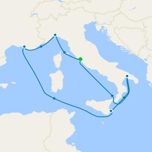 Mediterraneo da Civitavecchia