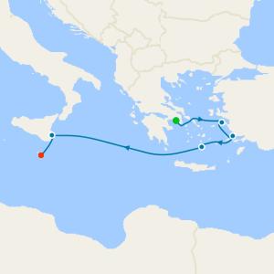 da Pireo (Atene) a La Valletta