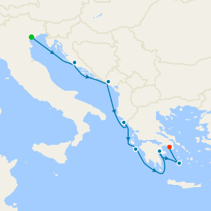 da Venezia a Pireo (Atene)