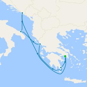 da Pireo (Atene) a Venezia