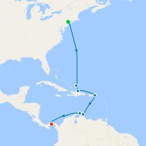 da New York a Città di Panama