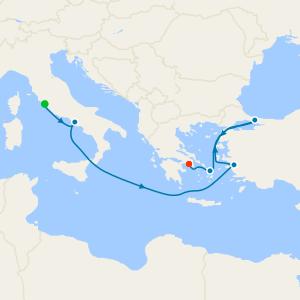 da Civitavecchia a Pireo (Atene)