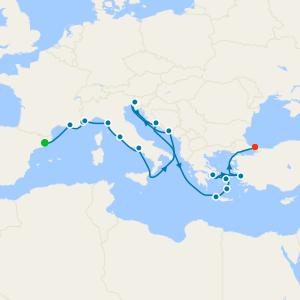 da Barcellona a Istanbul