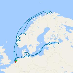 Fiordi e Norvegia da Rotterdam