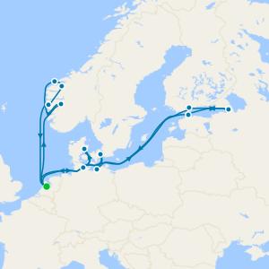 Fiordi e Norvegia da Amsterdam
